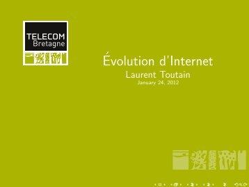 Évolution d'Internet