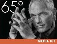 MEDIA KIT - 65° Magazine