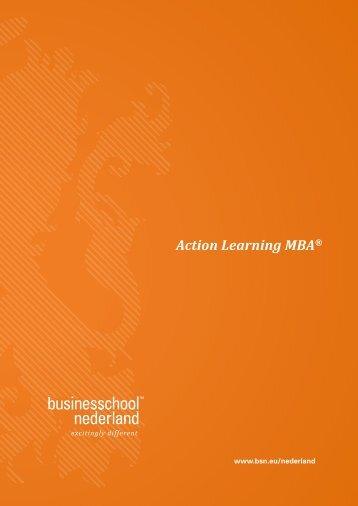 Corporate Brochure BSN Nederland - Business School Netherlands