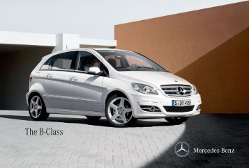 The B-Class - Mercedes-Benz Nigeria