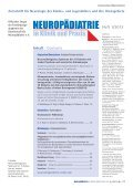#6667_Neuropädiatrie 01-2012.indd - Neuropädiatrie in Klinik und ... - Seite 3