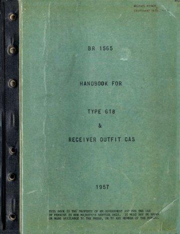 br 1 565 handbook for type 618 receiver outfit oas - VMARSmanuals