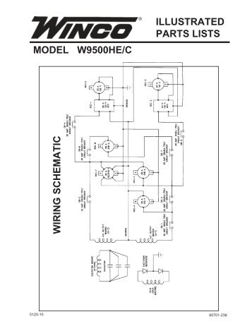Gp4000be parts list wiring diagram winco generators 60701 236 parts list w9500hec winco generators asfbconference2016 Image collections