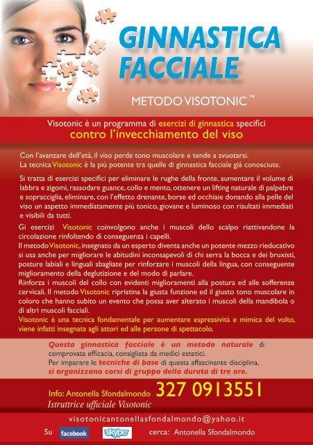 ginnastica facciale - Centro Crisalide