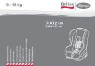 DUO plus 9 - 18 kg - Britax Römer