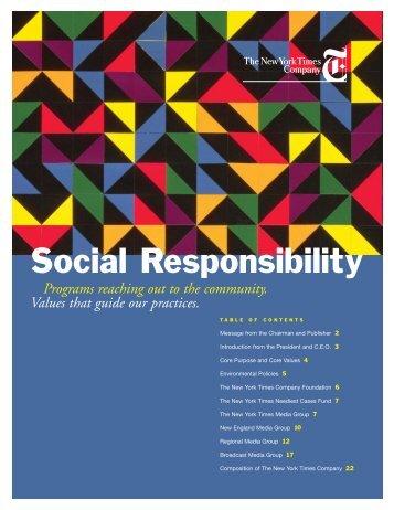 Social Responsibility - Graines de Changement