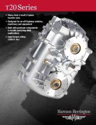 Brochure - Global leaders in drivetrain innovation, power and ...