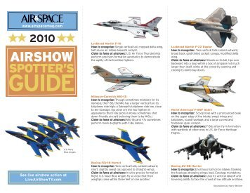 Airshow Spotters Guide.qxp:Layout 1 - Air & Space Magazine