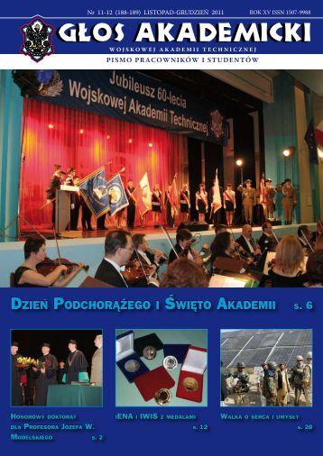 dzień podchorążego i święto akademii - Wojskowa Akademia ...