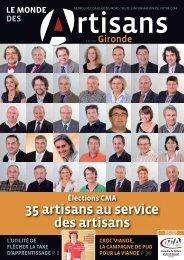 N°80 janvier 2011 - Chambre de métiers et de l'artisanat