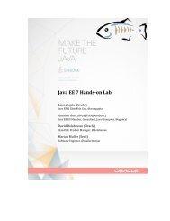 Java EE 7 Hands-‐on Lab - GlassFish - Java