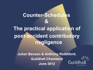 Powerpoint Slides - Julian Benson & Anthony Reddiford - Guildhall ...