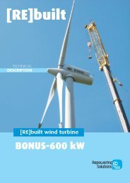 [RE]built wind turbine - Repowering Solutions