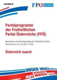 Parteiprogramm der Freiheitlichen - FPÖ.at