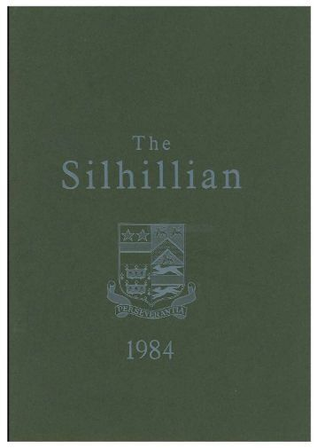 Silhillian_1984_November_Issue Number 35 - Old Silhillians ...