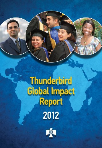Impact Report - Thunderbird Magazine - Thunderbird School of ...