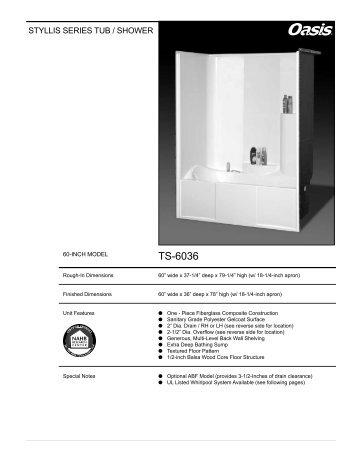 TS-6036 - Oasis Bath