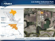 Los Indios Industrial Park - Gisplanning.net