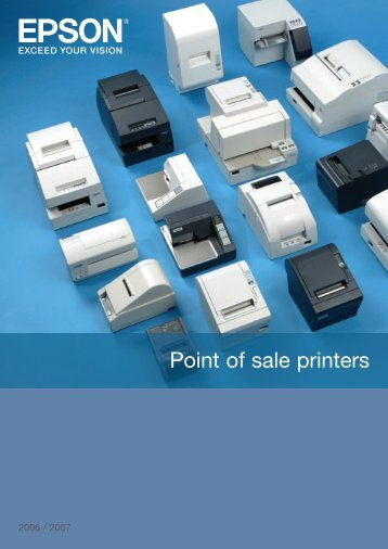 Point of sale printers - Pointofsale.nl
