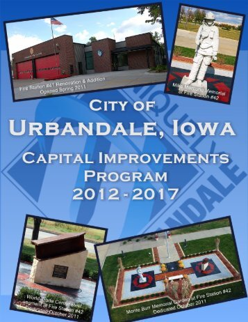 FY2012-2017 CIP Document - City of Urbandale