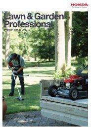 View Honda Pro Lawn & Garden Brochure - Abbey Rose Garden ...