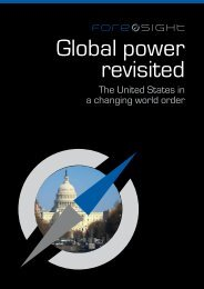 The United States in a changing world order - Alfred Herrhausen ...