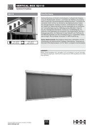 vertical-Box S2110 - Zweifel Storen, Guilbert Storen
