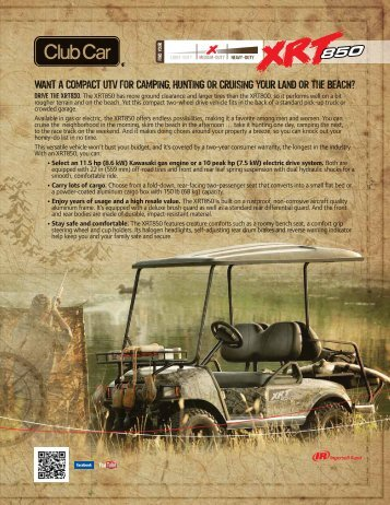 to download brochure - Bennett Golf Cars