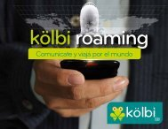 Brochure kölbi roaming - Grupo ICE