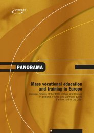 Mass vocational education and training in Europe - Europa