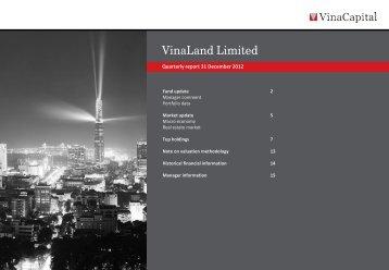 VNL Q4 2012 report - VinaCapital