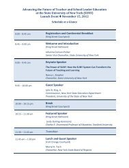 November 15, 2012 Meeting Agenda - Higher Ed - New York State ...