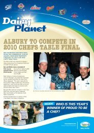 Dairy Planet - Fonterra Foodservices