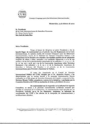 Consejo Uruguayo para las Relaciones Internacionales (CURI)