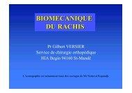 Biomécanique Rachis - ClubOrtho.fr