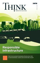 HNTB's THINK Magazine: Responsible Infrastructure - HNTB.com