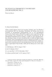 Schatulle Friedrichs II. von Preußen und die -  Staatliches Institut für ...