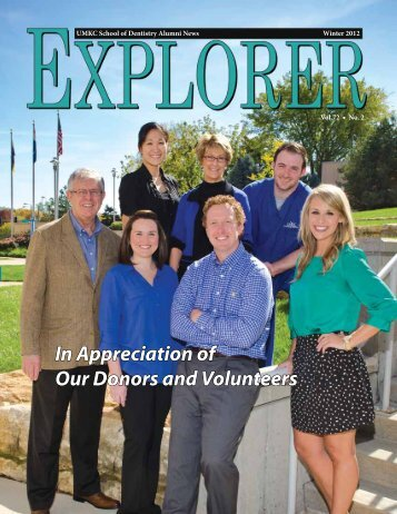 Explorer Winter 2012 - UMKC School of Dentistry - University of ...