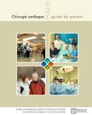 Chirurgie cardiaque guide du patient - Institut de Cardiologie de ...