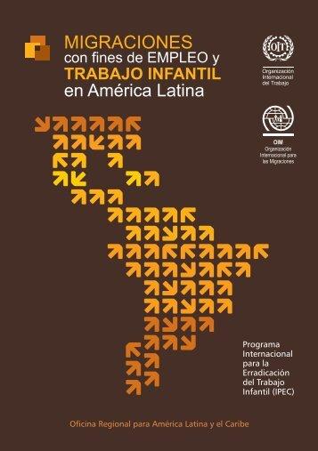 Migraciones con fines de empleo y trabajo infantil en América Latina