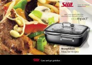 Rezeptideen Ideas for recipes - Silit