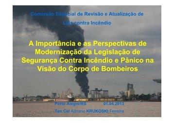 Comissão Especial de Revisão e Atualização de Leis contra Incêndio