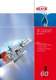 New! High viscosity pumps with reversible flow operations