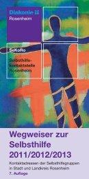 Wegweiser zur Selbsthilfe 2011/2012/2013 - Selbsthilfekontaktstelle ...