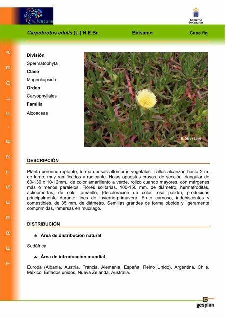 Especie Invasora - Interreg Bionatura