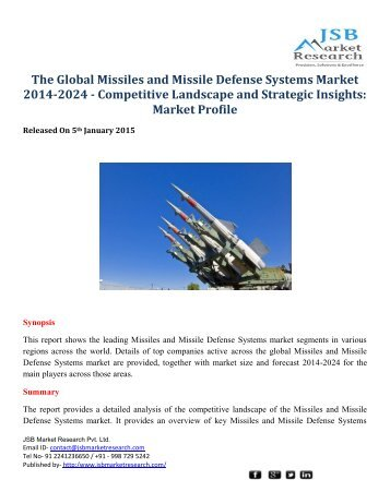 military aviation industry analysis 2014 2024 competitive Military smart weapons market 2014-2024  giving you a broad view of the competitive landscape - this analysis will help you achieve quicker, easier understanding  analyst's industry .