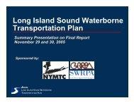 Long Island Sound Waterborne Transportation Plan - Business ...