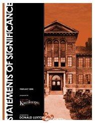 Kamloops Heritage Register - City of Kamloops