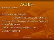 acids - Similima