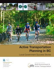 Local Government Success Stories - Physical Activity Strategy